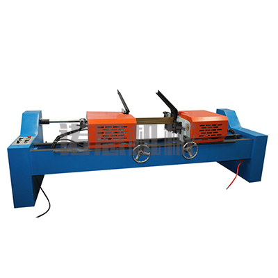 Ef-80 double head pneumatic chamfering machine